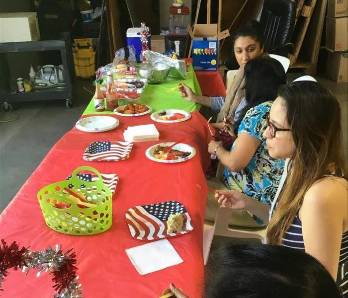 4th of July at SERVPRO Tracy !!!