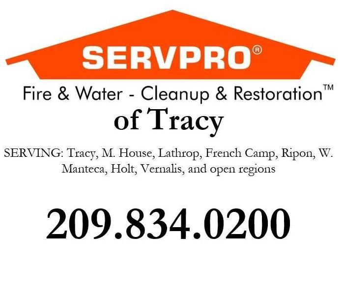 At SERVPRO of Tracy