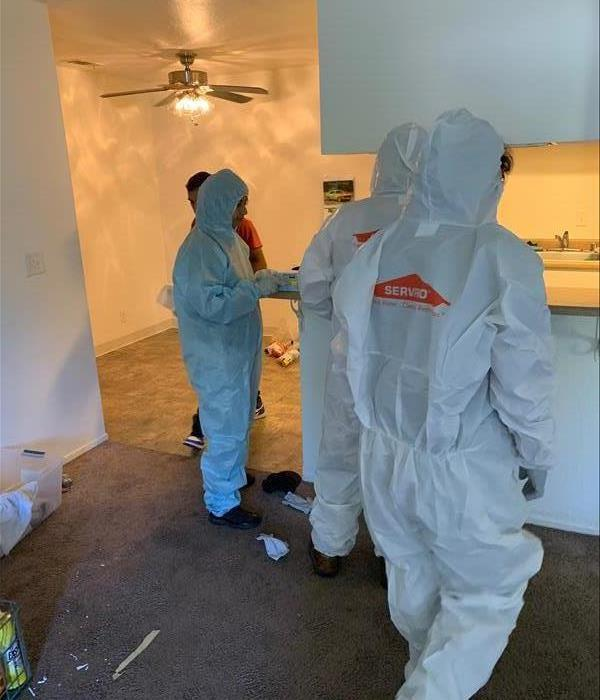 Mold mitigation and remediation team of SERVPRO of Tracy