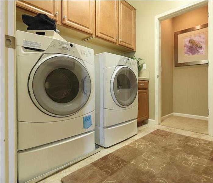 Water Damage Water Removal and Your Carpets After Washing Machine Leak in Manteca